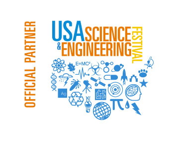 USA Science and Engineering Fest logo